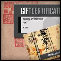 Studio Gift Certificates